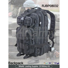 Black Molle Rucksack Assault Pack Army Pack