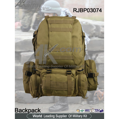 Military Rucksack Molle Tactical Assault Backpack Day Pack