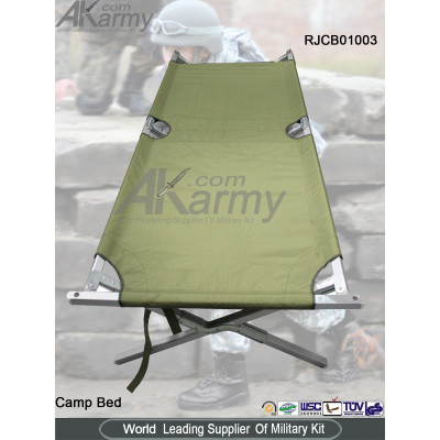 New improved G.I type army military cot
