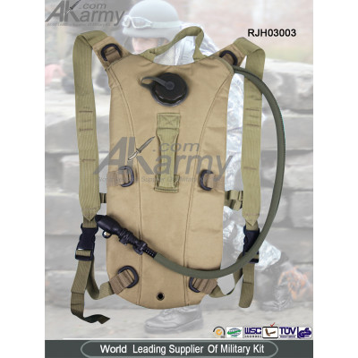 600D Military hydration backpack 2.5L army bladder water backpack