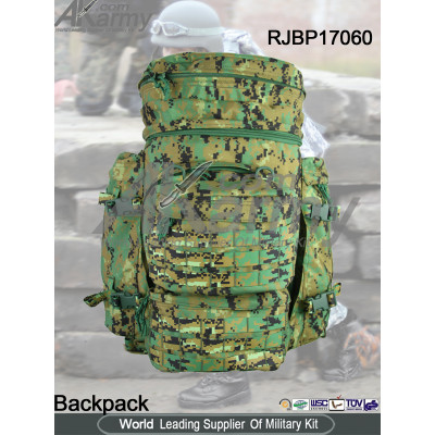 1000D Nylon Digital Woodland Military Assault Backpack