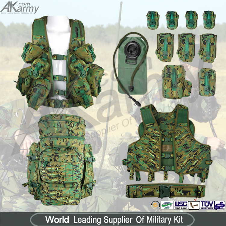 1000D Nylon Military Tactical Vest PLCE Pouch Vest,China PLCE ...