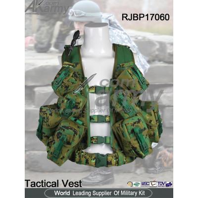1000D Nylon Military Tactical Vest PLCE Pouch Vest