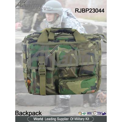 Tactical shoulder bag military woodland outdoor bag