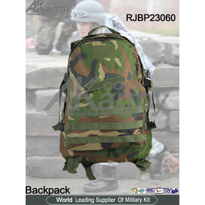 Military Camouflage 3-DAY Assault Pack