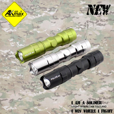Akmax high quality  led  flashlight  waterproof camping electric torch