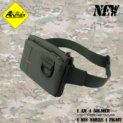 Akmax high quality ultrathin waist pack message bag