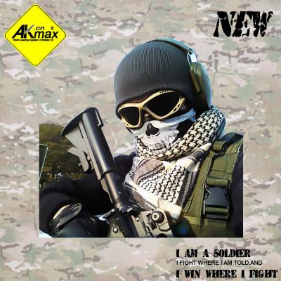 Akmax New arrival skull headbands ride scarf