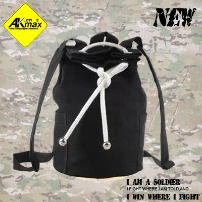 Akmax fashiong canvas bag travel bag big capacity bag camping bag