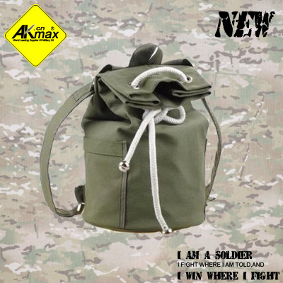 Akmax fashion tactical  backpack canvasbackpack bag travel bag