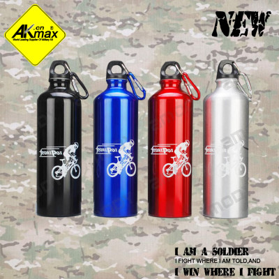 Akmax aluminum sports water bottle bicycle sports bottle