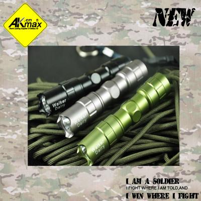 Akmax tactical flashlight  LED flashlight strong light flashlight