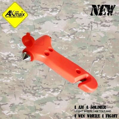 Akmax high quality Two-in-one Hammer car Emergency Hammer
