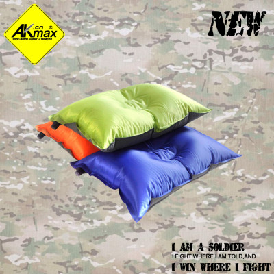 Akmax high quality  inflatable pillow  portable pillow