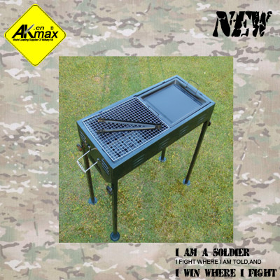 Akmax new arriving Large BBQ grill stove portable
