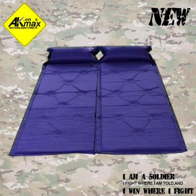 Akmax  Inflatable  outdoor single camping mat