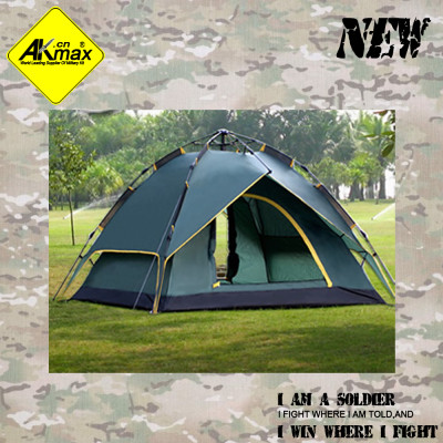Akmax outdoor automatic tent double camping tent