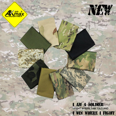 AKMAX Camouflage tactical scarf outdoor breathable muffler scarf Camouflage jungle bandanas