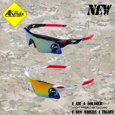 Akmax sports glasses trend driving mirror sunglasses