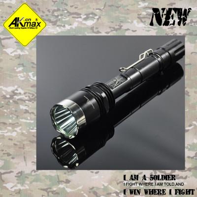 Akmax LED flashlight strong xenon light