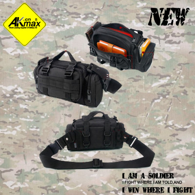 Akmax attack tactical waist pack ride bag outdoor portable waist pack