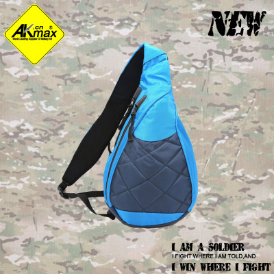 Akmax fashion running sports bag one shoulder backpack