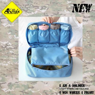 Akmax Travel bra clothing storage bag  underwear storage