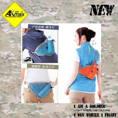 Akmax sports messenger bag storage waist bag