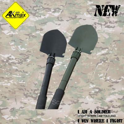 Akmax multifunctional shovel gardening shovel  folding shovel