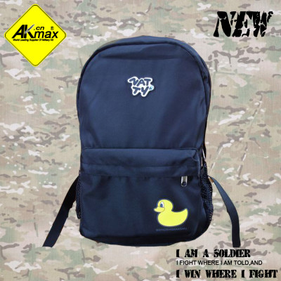 Akmax  preppy style outdoor backpack waterproof School bag