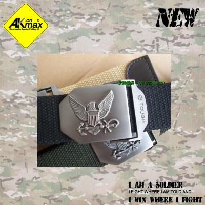 Akmax fashion navy belt casual belt