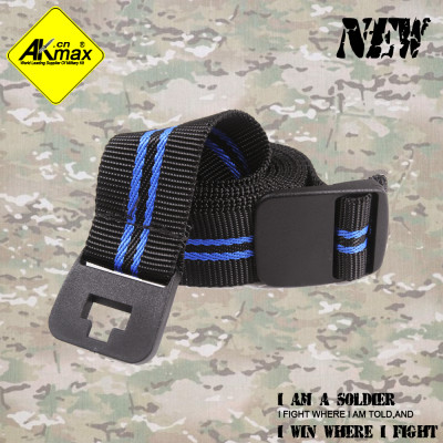 AKMAX  high quality  multifunction tape nylon belt  fashion belt
