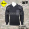 Akmax military sweater dark black and original Army style for U.S government