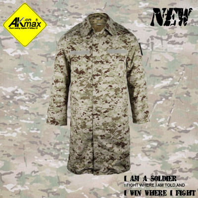 AKMAX  digital desert camo. military coat army coat warm jacket with fleece