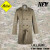 AKMAX  Khaki fashion coat military coat warm jacket fashion jacket