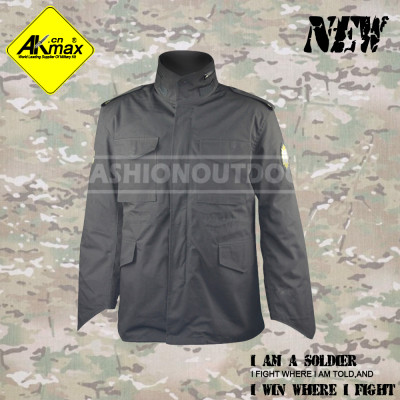Akmax US style military jacket army jacket military coat for army with fleece