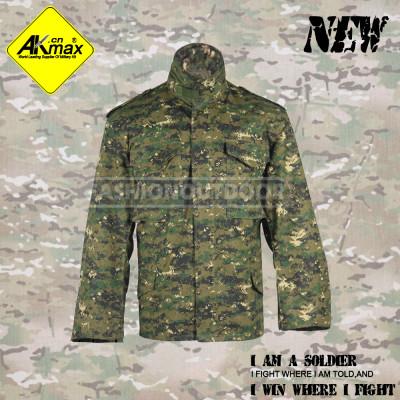 AKMAX digital woodland camo.  M65 jacket  military jacket army coat warm coat for army