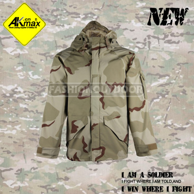 AKMAX 2014 style desert camo. ECWCS jacet military jacket for army G8 toread