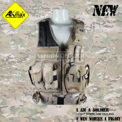 AKMAX 2014 style desert camo. high quality military tactical vest for army combat vest