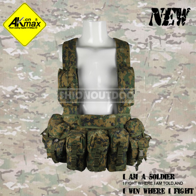 Akmax camouflage vest military tactical vest AK47 chest rig miilitary vest