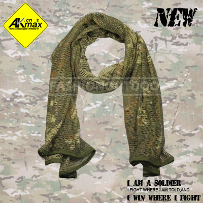 Akmax camoflage military scarf with high quality 100% cotton