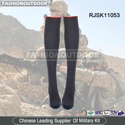 AKMAX High quality gray military socks napped socks army socks with nylon and acrylic