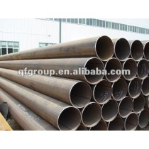 Black Round High-Frequency Welded Pipes