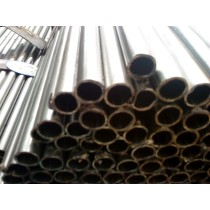 Round thick-wall welded tube