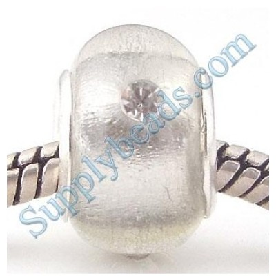 Free Shipping! Vnistar silver plated core glass copper beads PGSS093 ,size 9*14mm, sold as 20pcs each pack