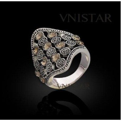 Free shipping! Vnistar rings, fashion jewelry ring, VR343, unadjustable size, sold in 2pcs per pack