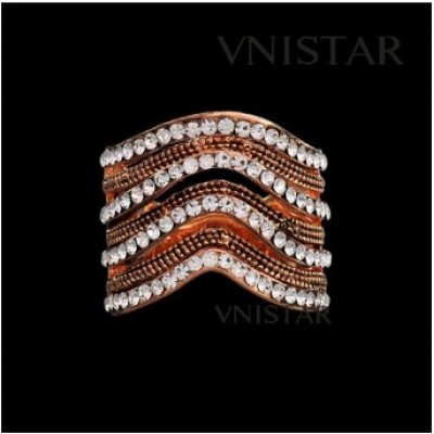 Free shipping! Vnistar rings, fashion jewelry ring, VR342, unadjustable size, sold in 2pcs per pack