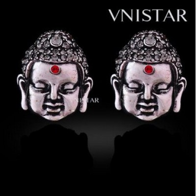 Free shipping! Fashion earrings, stud earring, buddha earring, VE438, size in 16*20mm, sold in 2prs per pack