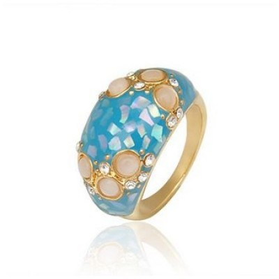 Free shipping! Rings, fashion jewelry rings, JZ209, unadjustable size, sold in 5pcs per pack