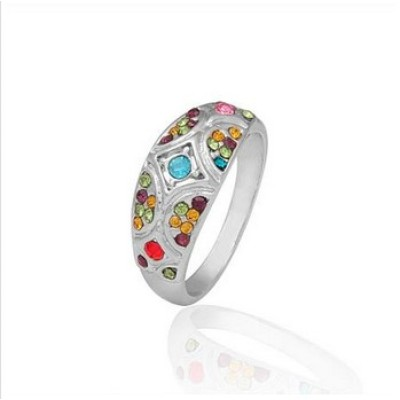 Free shipping! Fashion jewelry rings, wedding ring, JZ018, unadjustable size, sold in 5pcs per pack